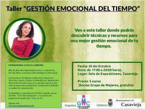 """Taller de """"Gestión Emocional del Tiempo"""" @ Sala de Exposiciones """"Casa del Secretario"""""""