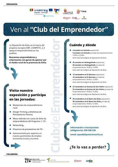 "VEN AL ""CLUB DEL EMPRENDEDOR"""