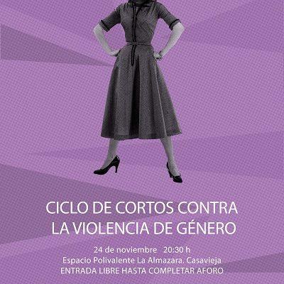 CICLO DE CORTOS CONTRA AL VIOLENCIA DE GÉNERO