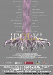 "Película documental ""Folk"" @ Espacio Multiusos La Almazara"