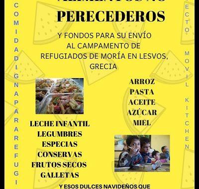 RECOGIDA DE ALIMENTOS NO PERECEDEROS