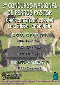 2º Concurso Nacional de Perros Pastor @ Dehesa de Casavieja
