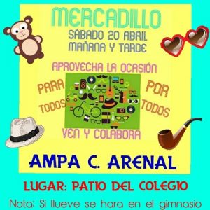 Mercadillo AMPA @ Patio del colegio.