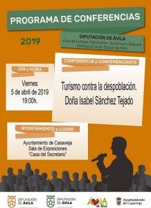 """Conferencia """"Turismo contra la despoblación"""" @ Sala de Exposiciones """"Casa del Secretario"""""""