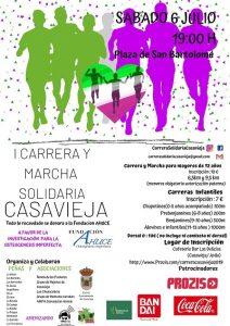 I Carrera y Marcha solidaria de Casavieja @ Plaza de San Bartolomé