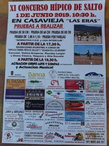 XI Concurso Hípico de Salto @ Las Eras.