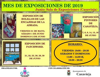 MES DE EXPOSICIONES DE 2019