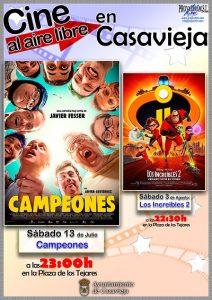 """Cine infantil """"Campeones"""" @ Plaza de los Tejares"""