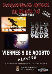 III edición Casavieja Rock @ Plaza de los Tejares