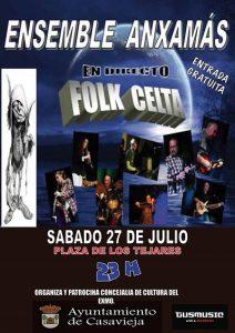 Ensemble Anxamás en concierto @ Plaza de los Tejares