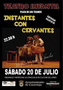 "Teatro infantil ""Instantes de Cervantes"" @ Plaza de los Tejares"