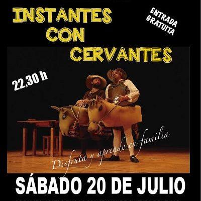 """TEATRO INFANTIL """"INSTANTES DE CERVANTES"""""""
