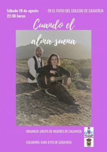 """""""Cuando el Alma Suena"""" en concierto @ Patio del colegio."""