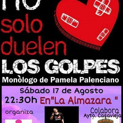 """""""NO SOLO DUELEN LOS GOLPES"""" DE PAMELA PALENCIANO"""