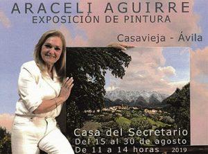 """Exposición de Pintura de Araceli Aguirre Díaz @ Sala de Exposiciones """"Casa del Secretario"""""""