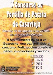 V Concurso Tortilla de Patata @ Patio del colegio.