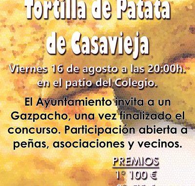 BANDO - CONCURSO DE  TORTILLA DE PATATA