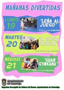 """Mañanas Divertidas - """"Leña al juego"""" @ La Almazara"""