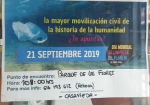 Día Mundial de Limpieza del Planeta @ Plaza de los Tejares