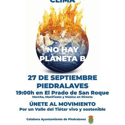 MANIFIESTO POR EL CLIMA EN EL VALLE DEL TIÉTAR