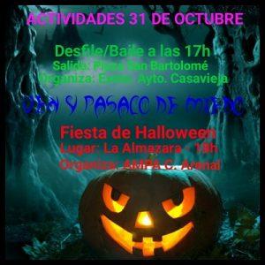 Desfile/baile de Halloween @ Plaza de San Bartolomé