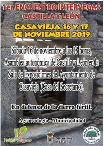 """1er Encuentro Intervegas Castilla y León @ Sala de Exposiciones """"Casa del Secretario"""""""