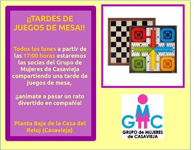 ¡¡TARDES DE JUEGOS DE MESA!!