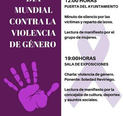 25N: DÍA MUNDIAL CONTRA LA VIOLENCIA DE GÉNERO