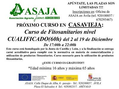 CURSO DE FITOSANITARIOS NIVEL CUALIFICADO
