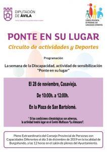 Ponte en su lugar @ Plaza de San Bartolomé