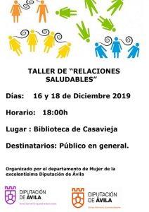 """Taller """"Relaciones Saludables"""" @ Bibliteca Municipal Sagrario Fuentes Pulido """"Tito"""""""