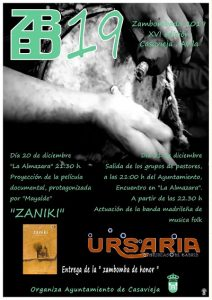 "Película documental ""ZANIKI"" @ La Almazara"
