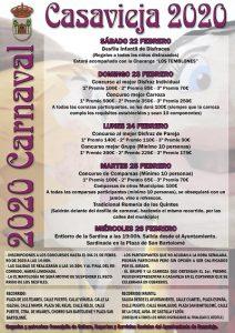 Desfile Infantil de Disfraces - Carnaval 2020 @ Ayuntamiento de Casavieja