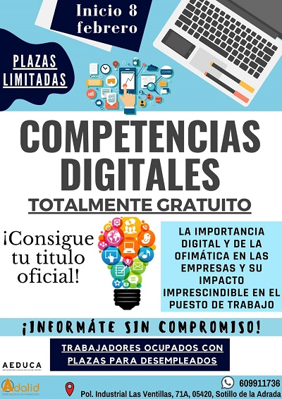 "CURSO ""COMPETENCIAS DIGITALES"""