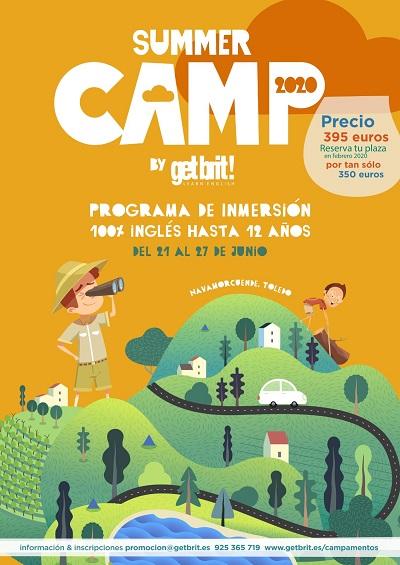 SUMMER CAMP 2020 DE GET BRIT!
