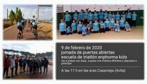 """Jornada puertas abiertas Escuela Triatlón Enphorma Casavieja @ Las """"Eras"""""""