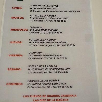 FARMACIAS DE GUARDIA 27-04-2020 AL 03-05-2020