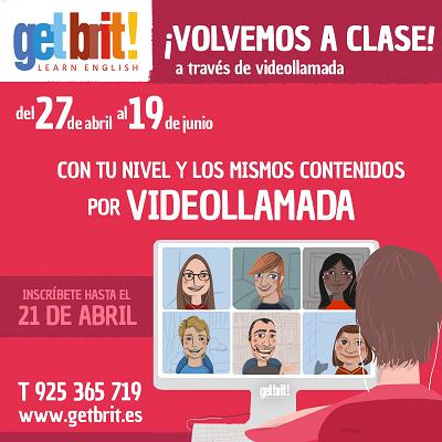 EN GET BRIT! VUELVEN LAS CLASES A TRAVÉS DE VIDEOLLAMADA