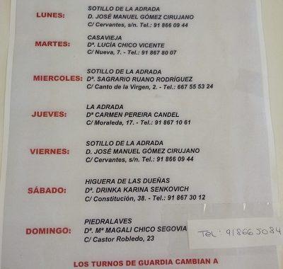 FARMACIAS DE GUARDIA 18-05-2020 AL 24-05-2020