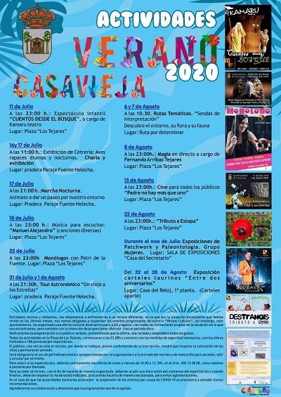 ACTIVIDADES VERANO CASAVIEJA 2020