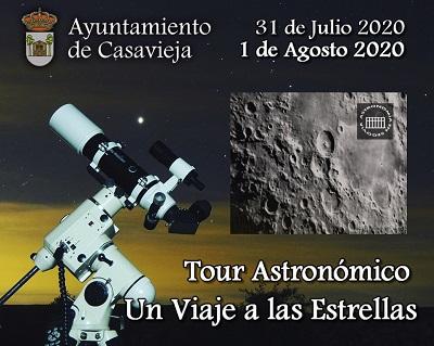 AVISO TOUR ASTRONÓMICO: UN VIAJE A LAS ESTRELLAS