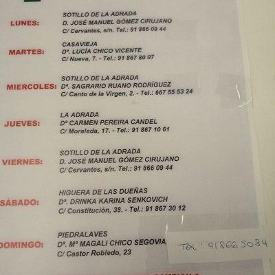 FARMACIAS DE GUARDIA 27-07-2020 AL 02-08-2020