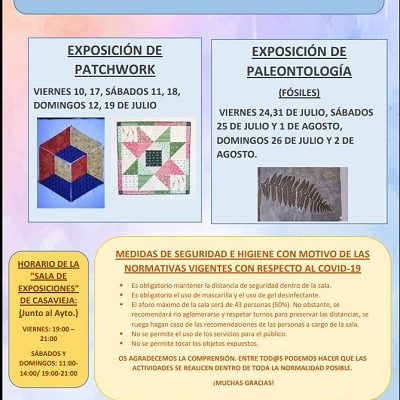 VERANO DE EXPOSICIONES 2020