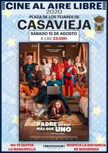 """Cine de Verano """"Padre no hay más que uno"""" @ Plaza de los Tejares"""