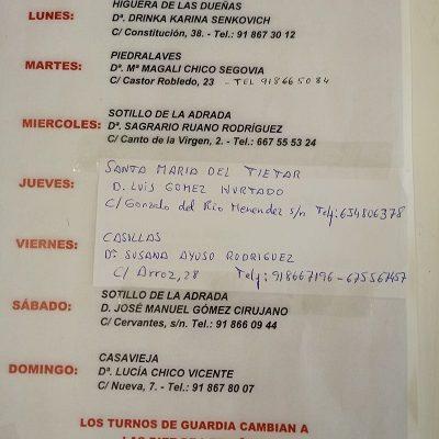 FARMACIAS DE GUARDIA 31-08-2020 AL 06-09-2020