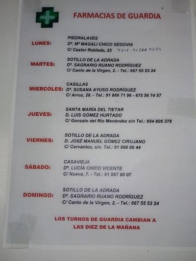 FARMACIAS DE GUARDIA 30-11-2020 AL 06-12-2020