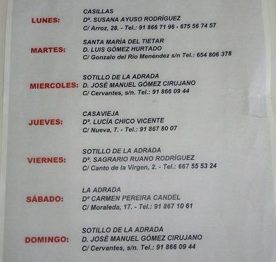 FARMACIAS DE GUARDIA 02-11-2020 AL 08-11-2020