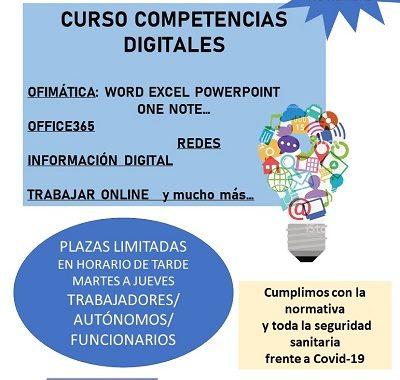CURSOS DE COMPETENCIAS DIGITALES E INGLÉS