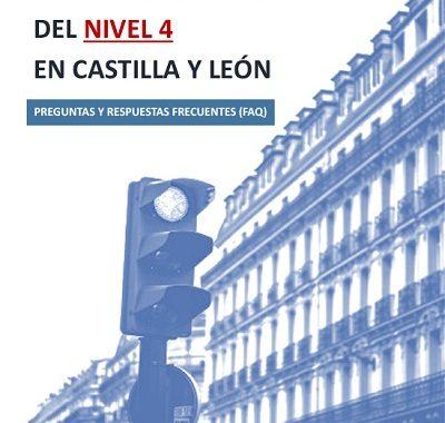 GUÍA DE PREGUNTAS Y RESPUESTAS DE APLICACIÓN DEL NIVEL 4 EN CASTILLA Y LEÓN