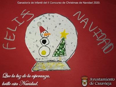 GANADORES DEL II CONCURSO DE CHRISTMAS NAVIDAD 2020